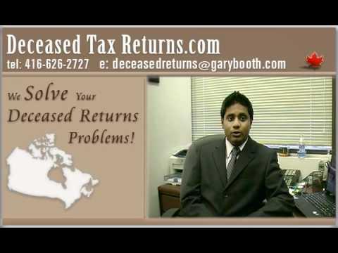 Clearance Certificate & Deemed Disposition | Deceased Tax Returns.com (416-626-2727)