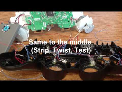 Tutorial- How To Mod PS3 Controller With LED Lights On All Buttons (Sony Playstation 3)