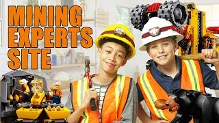 Lego City Mining Experts Site Unboxing - The Build Zone