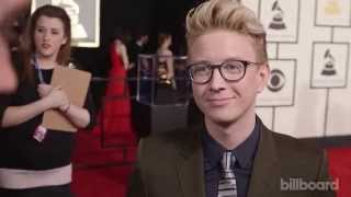 Download Tyler Oakley: The 2015 GRAMMYs Red Carpet Video