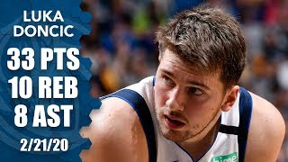 Luka Doncic puts up near triple-double vs. Magic | 2019-20 NBA Highlights