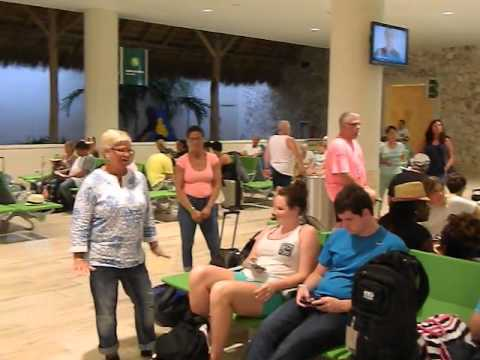 Busy Punta Cana Airport