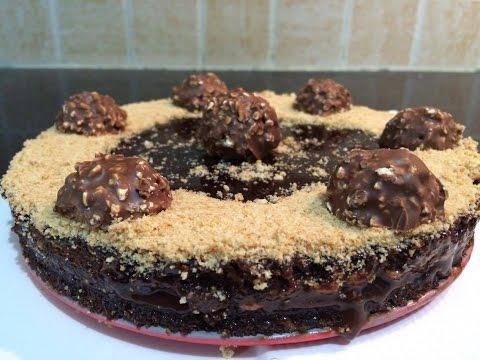 Eggless No Bake Ferrero Rocher Cake - Eggless Ferrero Rocher cake - No Bake Ferrero Rocher Cake