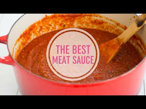 The Best Meat Sauce