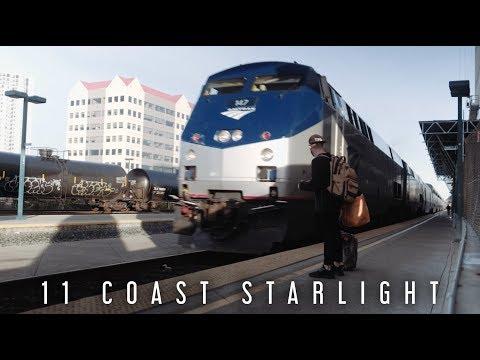 AMTRAK ACROSS AMERICA - Episode 6 (Tour of the 11 Coast Starlight)