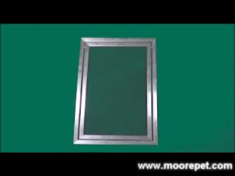 Aluminum Framed Pet Screen Door