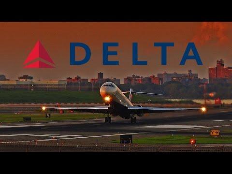 Delta A320, B-717, & MD-88 Action / LaGuardia Airport (LGA)