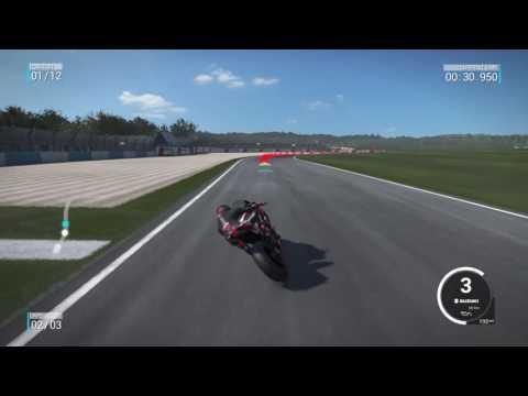 Ride 2 online gameplay Donington GSXR1000