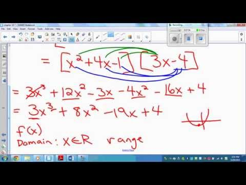 10 2 Products and Quotients of Functions