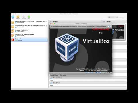 how to install a iso file on Virtualbox