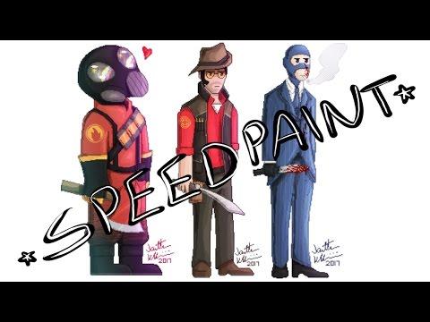 [SpeedPaint] TF2 Pixel Art