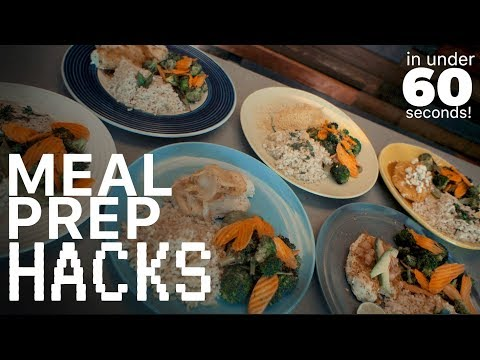 Meal Prep Hacks: 6 easy ways to make your meal prep better - Hot Topic Tuesday's