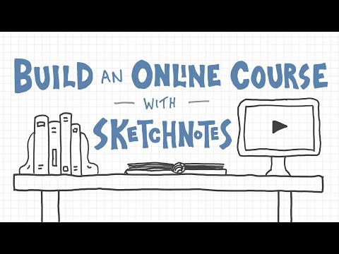 Build an Online Course with Sketchnotes