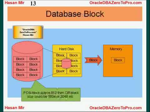 Oracle DBA - Blocks