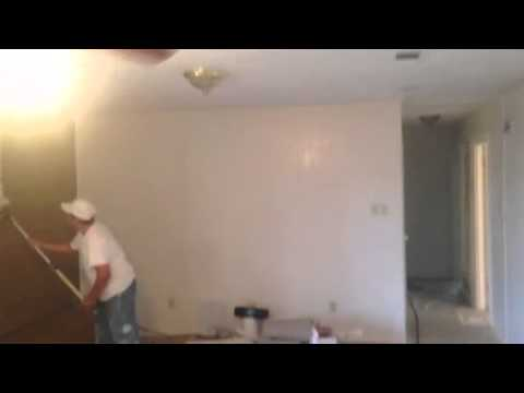 Primer Brick Fireplace and Interior Paint Preparations