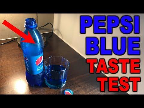 Pepsi Blue - Taste Test - Clueless Dad