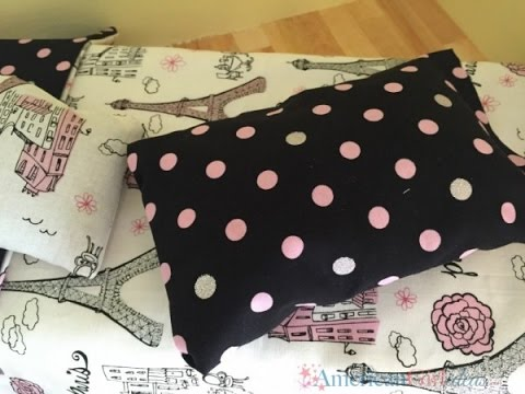 DIY American Girl Doll Pillow | No-Sew
