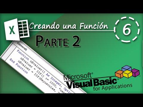 Creando una Función Parte 2 | VBA Excel 2013 #6