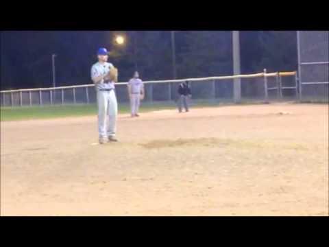 Tysen Hansen pitching