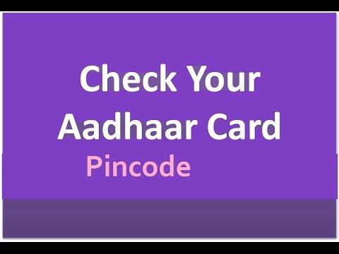 How to Find My Aadhaar Number Pincode Lost Aadhar Card