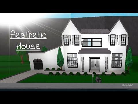 ROBLOX | Welcome to Bloxburg: Aesthetic House Speedbuild