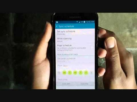 Samsung Galaxy S5 : How to Check Email Manually (Android Phone)