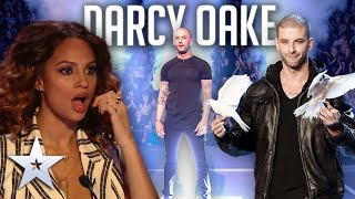 ALL PERFORMANCES from illusionist Darcy Oake!   Britain's Got Talent