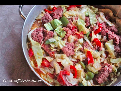 Jamaican Corned Beef and Cabbage