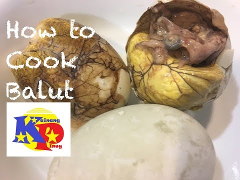 How To Cook Balut - an