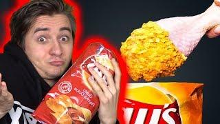 Mangio SOLO CIBI LIFE HACK per 24h! | Nugget alle patatine (parte 3)