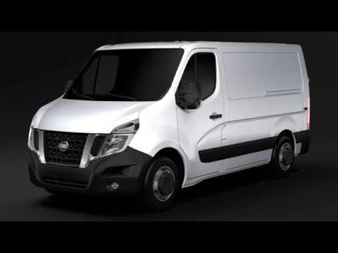 Review: 3D Model of Nissan NV 400 L1H1 Van 2017