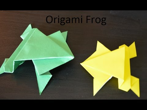 How to make a Paper Frog (with Easy Steps)