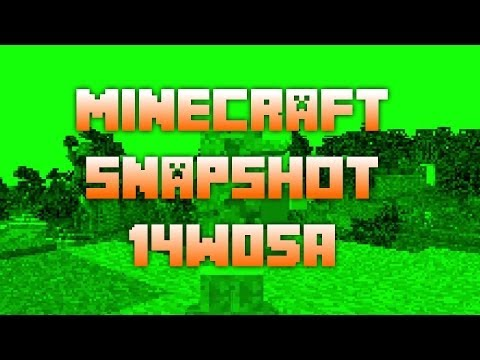 Minecraft Snapshot 14w05a - Spectator Mode, Activator Rails and more!