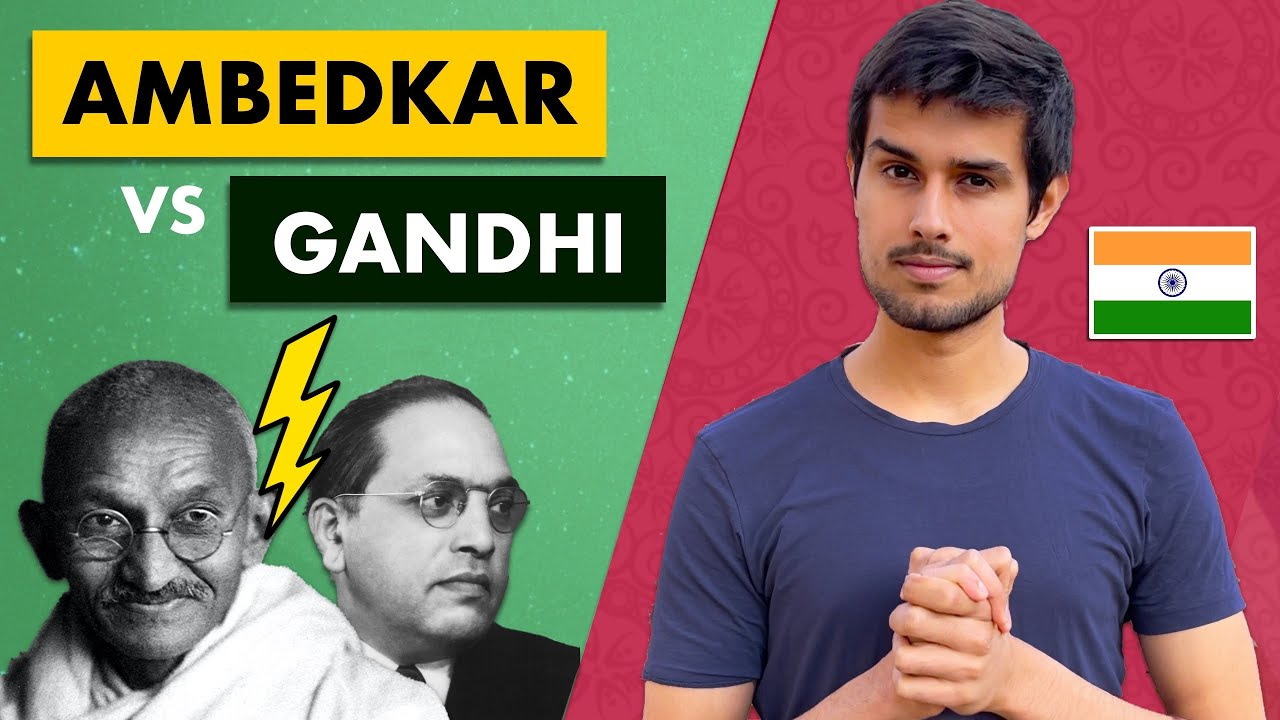 Ambedkar vs Gandhi | Who was right about Casteism? | Dhruv Rathee