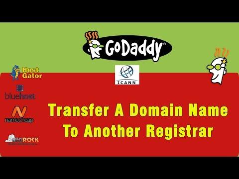 Transfer Domain Name To Godaddy - Step by Steps