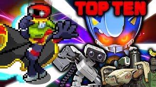 Top Ten Robots in Video Games