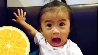 FUNNIEST BABIES Tasting NEW Foods FOR THE FIRST TIME Compilation