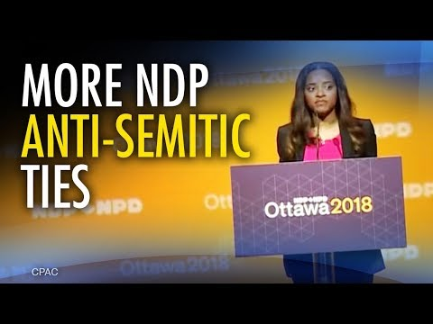 Media won't ask Horwath about NDP ties to anti-Israel activist