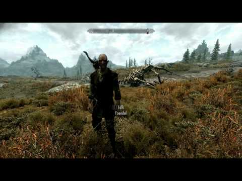 Skyrim how to change your FOV permanently [Tutorial]