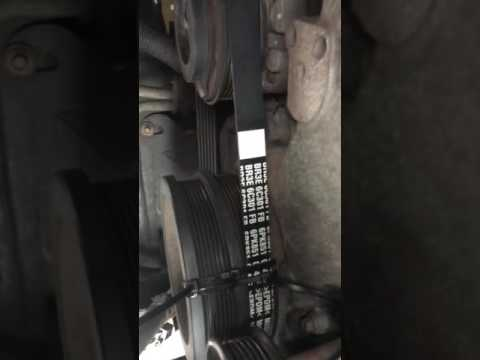 How to install Ac belt on a 2011 f-150 5.0