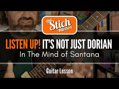 """Oye Como Va"" Master Class : In The Mind of Santana Guitar Lesson"