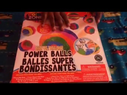 Color zone power balls create your own
