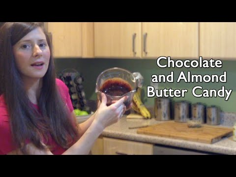 Healthy Homemade Chocolate and Almond Butter Candy