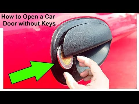 5 Tricks To Open a Car Door Without The Keys