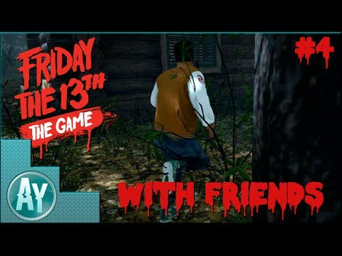 Friday The 13th The Game: Fat man play no games with this wheel!