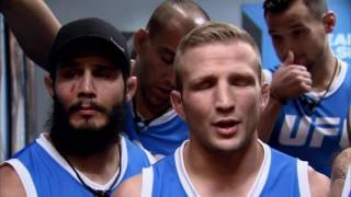 Urijah Faber goes face-to-face with T.J. Dillashaw over Team Alpha Male | THE ULTIMATE FIGHTER