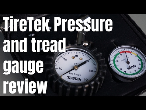 TireTek Automotive Set unboxing and review - Tire Pressure Gauge, Tread Depth Gauge and Valve Caps