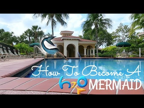 HOW TO BECOME AN H2O MERMAID??? || VLOG || Nikki Bruner