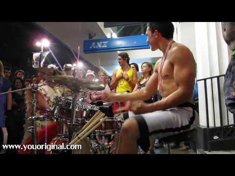 Dylan Elise, World's greatest drummer? 3/4