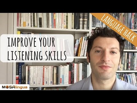 How to improve your oral comprehension (Language Hack n. 5)